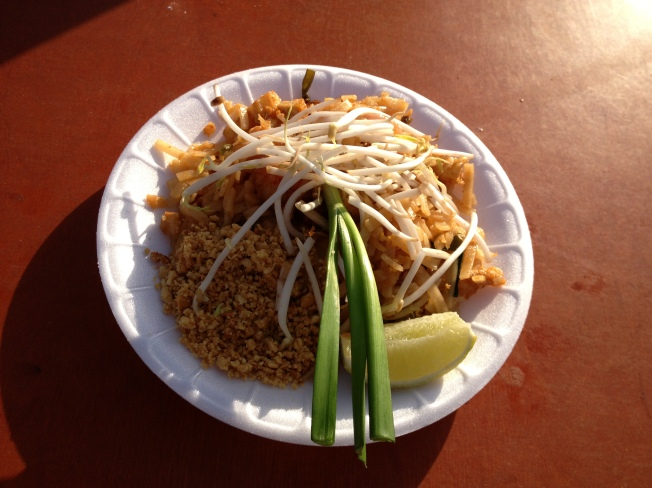 Seafood Phad Thai from Mango Tree