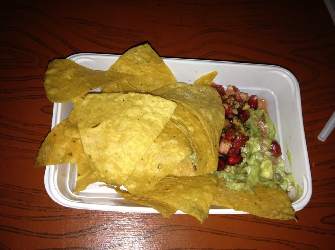 Guacamole from Maya Mexican Restaurant