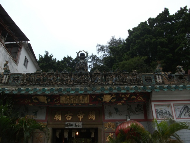 The legendary temple where I failed to light my incense stick!