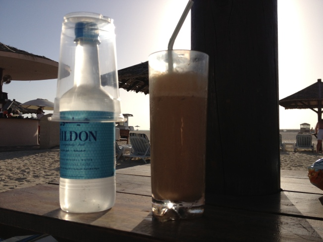 Refreshing Iced-Coffee!