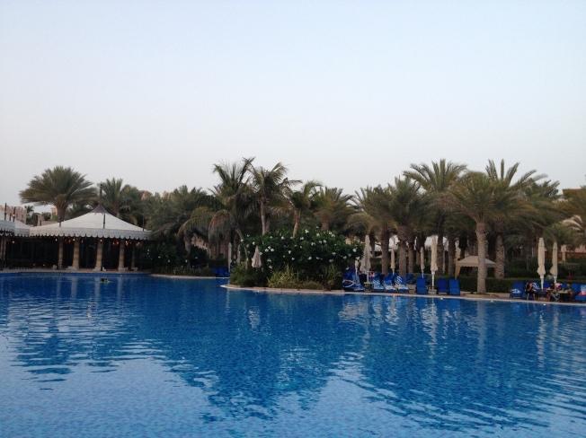 Dubai's Largest Leisure Pool at Al Qasr Hotel